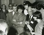 Ivan Allen with the Beatles